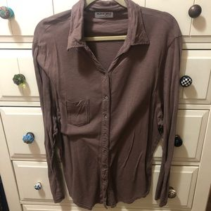 Women's Michael Stars Button Down Top